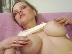 Russian milf fingered then smashed hardcore lovely