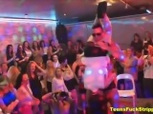 Crazy Moms & Girlfriends Become Shocking Sluts During A Stripper Party