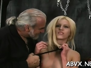 Big boobs babe hard fucked in bizarre thraldom xxx scenes