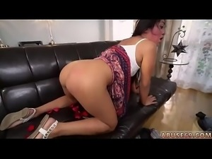Bound gagged brazil Rough ass-fuck sex for Lexy Bandera&#039_s birthday