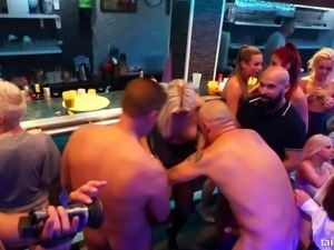 Orgy with Nathaly Cherie, Tiffany Tatum, Tiffany Doll and other babes