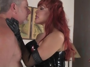 Sexy Vanessa knows how to treat her nasty sex slave