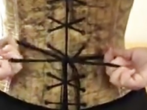 Pierced + corseted self-massage
