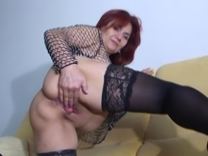 Nasty Emilia S cannot get enough of her massive sex toy