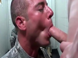 Sleeping army sex videos and gay porn men movie Glory Hole Day of