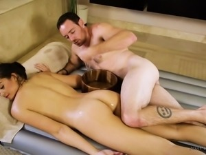 nuru massage leads to hot fucking