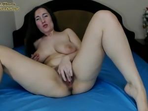 Hairy milf on webcam