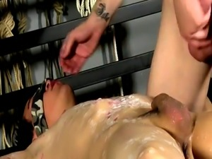 Gay latino men into bondage Blindfolding the twink  Reece gets embarke