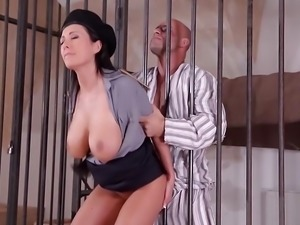 Prison Guard s Fantasies Fucking Through The Bars