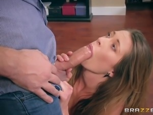 kirsten lee sucking and swallowing keiran lee's fat sausage