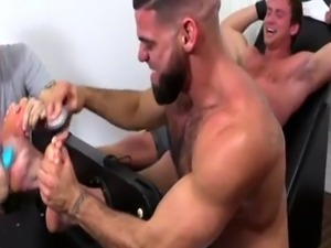 Hot male celebrities with hairy legs gay Connor Maguire Tickled Naked