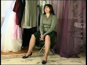 Mature woman with a young boy 2