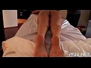 Massage with doggy style fucking
