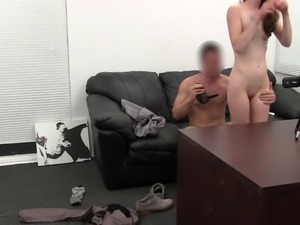 Phoebe having her pussy and asshole bashed for the camera