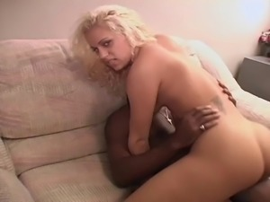 Blonde honey opens her legs for an insatiable lover's hard cock