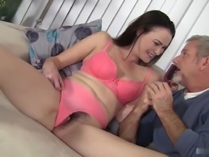 Veronica Snow is a mature woman who likes her men even older than herself
