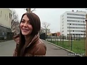 Cutie amateur european slut seduces tourist dor a street blowjob 03