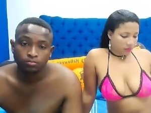 Big butt brunette ebony webcam show