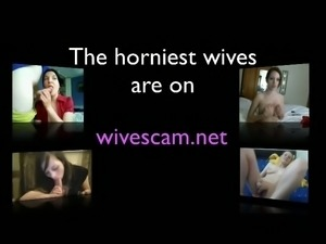 These amazingly horny wives are always horny and they love giving hot BJs