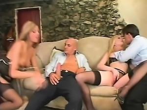 Hardcore group anal sex loving