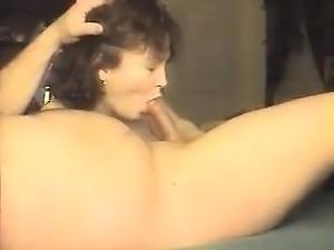 Amateur brunette pickup blowjob