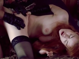 Tormenting doll got  fucked  by fat cock hardcore anal sex.