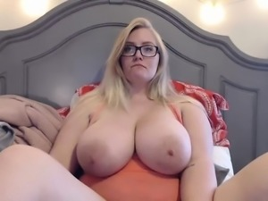 holy mother of JUGS amazing big boobs blonde