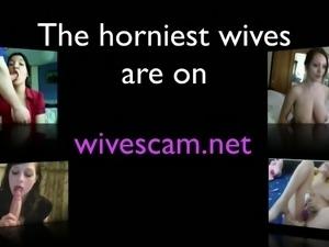 Wife on  hidden spy cam amazing