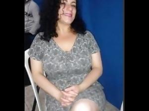 esposa no banho... wife big boobs shower