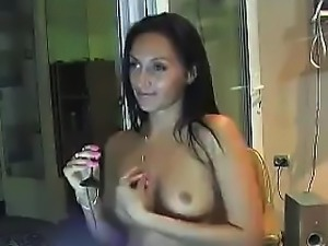 Russian brunette LanVin Privately chat