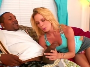 Brooke Cherry is a black cock nympho who knows how to enjoy her lover's BBC