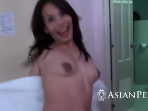 Two chicks banged by horny guy