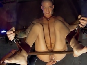 Abigail loves pain mixed with enjoyment and her lover, Master James, is...