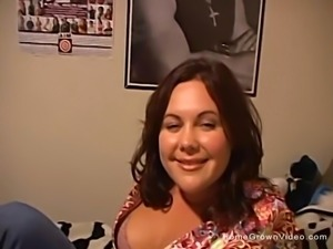 Cute Plumper Gets A Real Good Banging