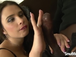 Slutty Mira Cuckold Takes a Huge Black Dick Up Her Ass and Is Creampied
