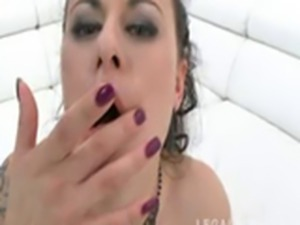 Billie Star ; Double Anal Gangbang