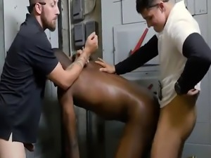 Gay massage sex video of tall man Shoplifting leads to donk fucking
