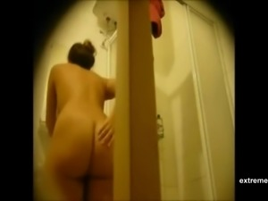 Big ass of my wife on hidden camera