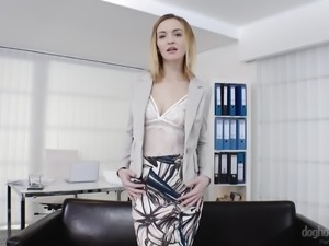 Rachel Evans is one of the hotties who are shameless and cock-hungry