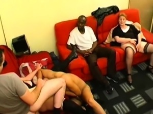 Charlotte gangbanged by friends