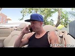 Stepmom is fucking a guy