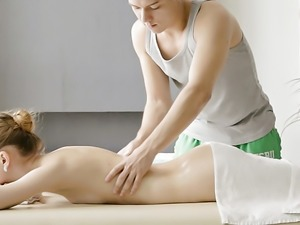 Sofia Russo needs more than a massage