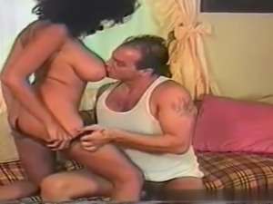 Black german milf enjoys sucking and getting fucked