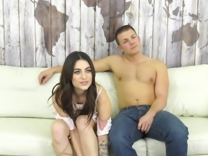 Lacey Channing is a naked chick who wants to be fucked by a man