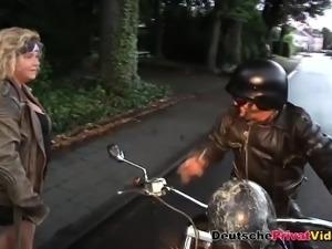 Chubby German MILF loves to fuck