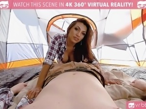 Jessi Dubai Is taking it hard in the ass and rocking the tent