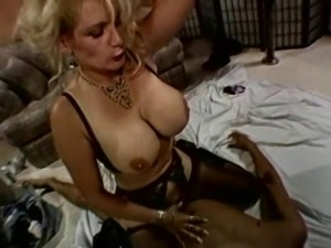 Huge fake boobs wives in a hot homemade retro