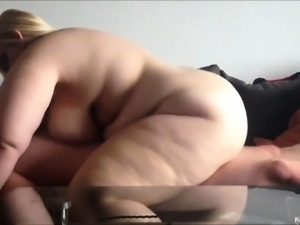 Chunky babe loves to suck hard meat and to get rammed deep