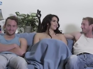 Italian beauty Valentina Nappi tells what inspired her to get into adult...