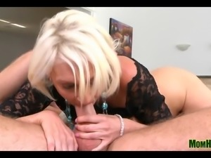 Blonde Mommy Fucked Silly